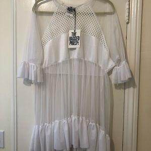 Sheer Mini Dress